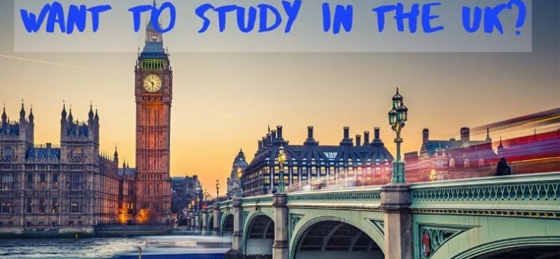 Want to Study in the UK